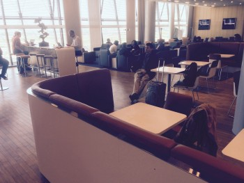 Lufthansa lounge Heathrow Terminal 2