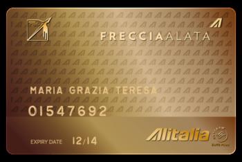 Alitalia card