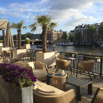 InterContinental Amstel Amsterdam bar terrace