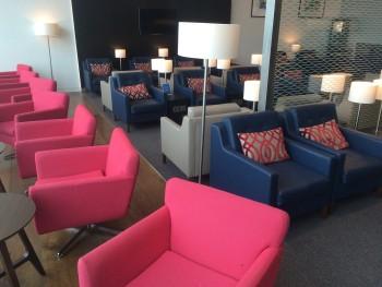 British Airways lounge Amsterdam Schiphol