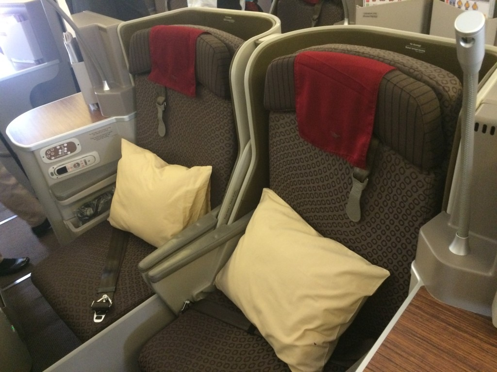 Garuda Indonesia Boeing 777 business class