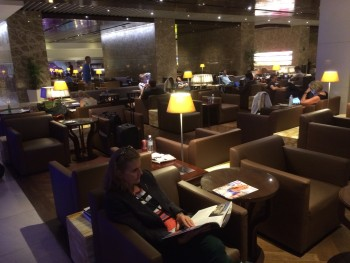 Singapore Airlines business class lounge Changi Terminal 3