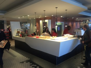 Virgin Trains West Coast First Class lounge London Euston