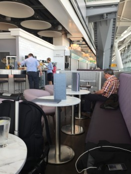 Aspire Heathrow Terminal 5 lounge