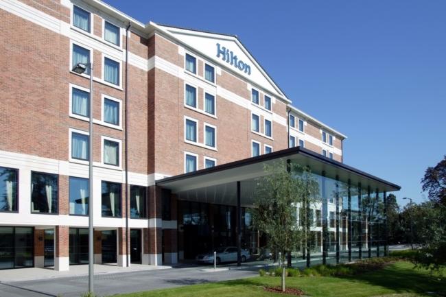 NCP car park at Hilton Heathrow Terminal 5