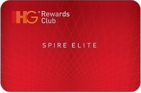 How can you get IHG Rewards Club status quickly, and
