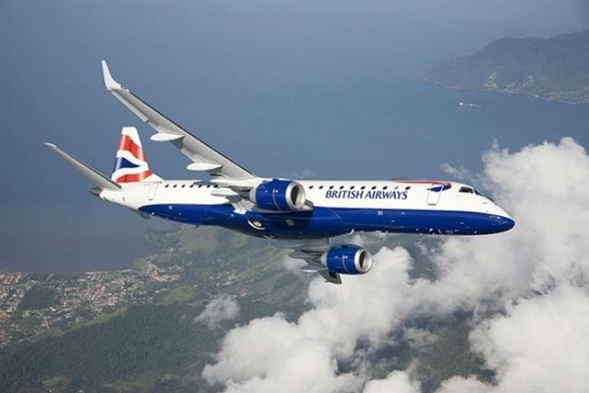 British Airways Embraer 190 London City