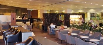 British Airways lounge Singapore 2