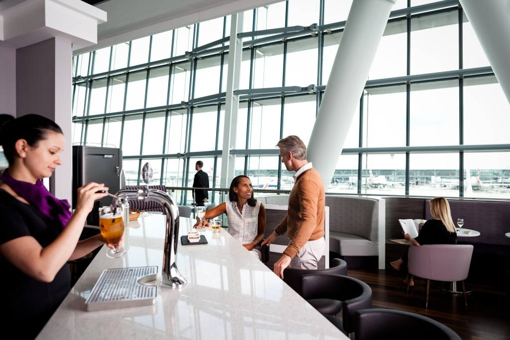 Aspire Lounge Heathrow Terminal 5 review