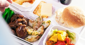 Air New Zealand promo food