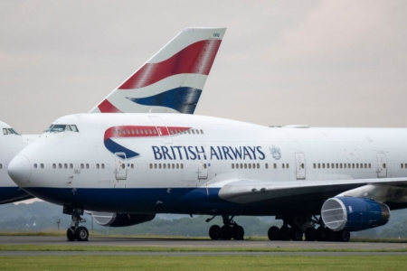 British Airways business first class sale