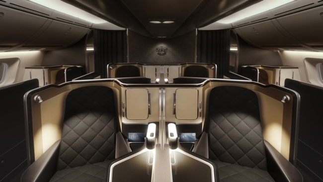 Who can book the first row on British Airways?