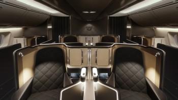 British Airways 787-9 First 3