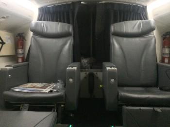 Boeing 777-300 pilot rest area