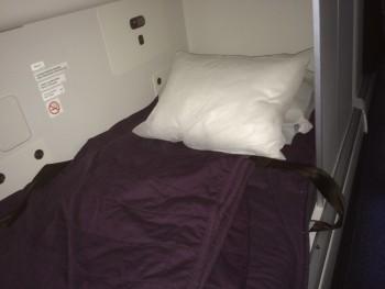 Boeing 777-300 crew rest area