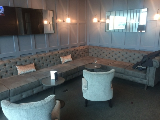 Clubrooms lounge review London Gatwick Airport South Terminal