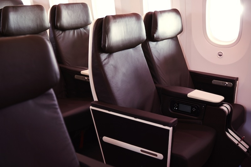 sleep Virgin premium economy