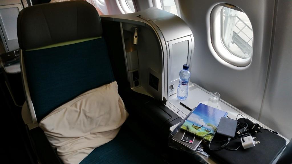 Aer Lingus 3 solo aisle seat