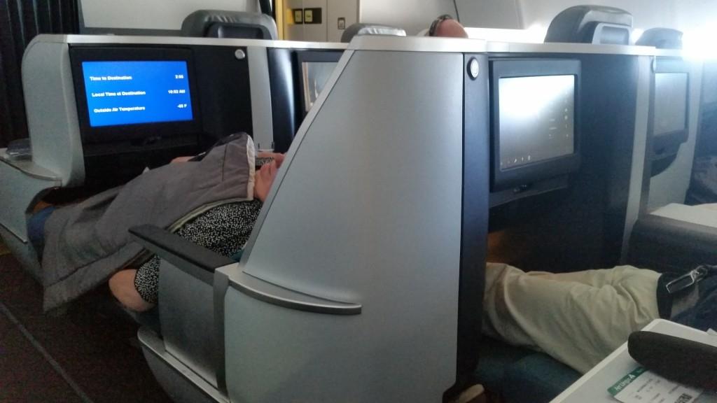 Aer Lingus 4 centre seats