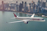 Qatar Airways A350 Doha