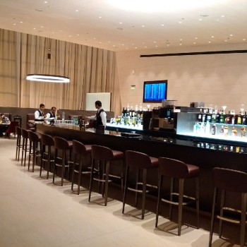Qatar Airways First Class lounge Doha 1