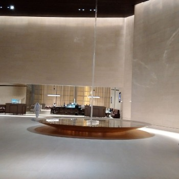 Qatar Airways First Class lounge Doha