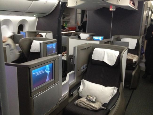BA Club World 787 to Athens £197