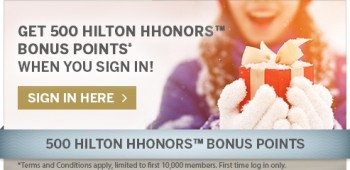 Hilton shop to earn