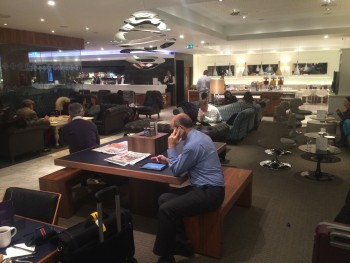 No1 lounge Heathrow Terminal 3 review