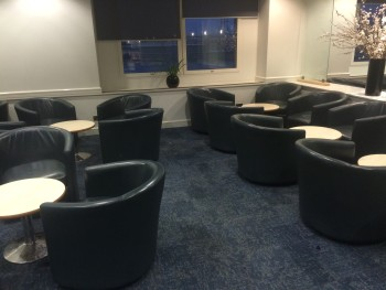 Swissport lounge Heathrow Terminal 3 review