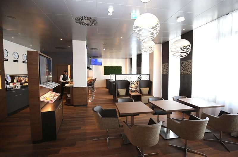New British Airways lounge in Salzburg