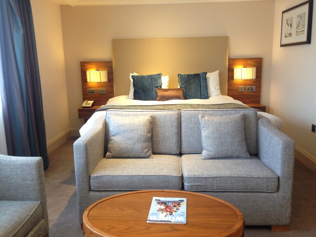 Amba Marble Arch hotel review Executive Room bedroom