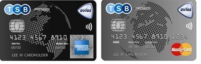 TSB Avios credit cards
