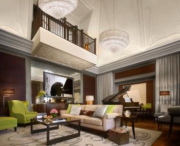 The Musician's Penthouse Double Height Lounge