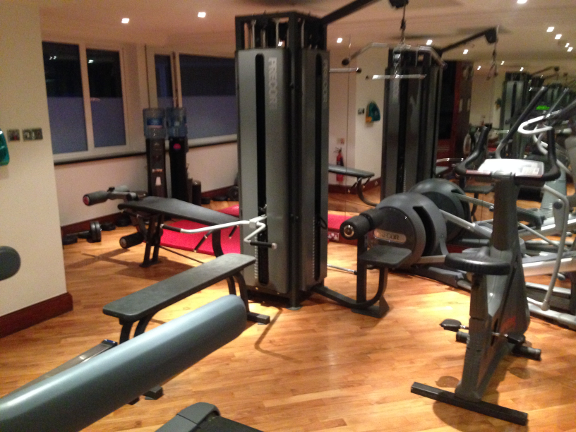 Amba Marble Arch hotel review gym photo