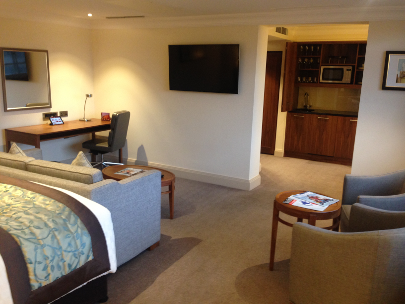 Amba Marble Arch London hotel studio apartment review