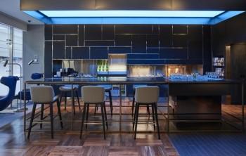 British Airways new Concourse D lounge Concorde Bar Dubai