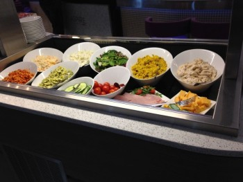 Saladbar aspire lounge luton review
