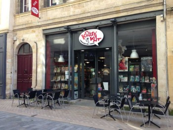 Krazy Kat comic cafe bordeaux