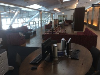 British Airways lounge Heathrow Terminal 5B satellite