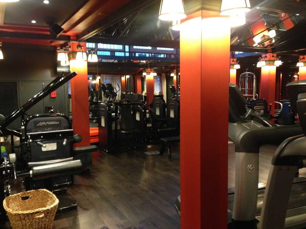 InterContinental Bordeaux - Le Grand Hotel review gym
