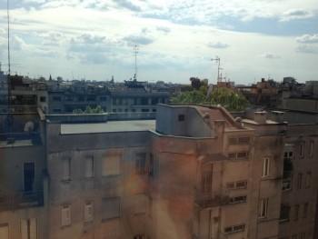 ME Milan room window view