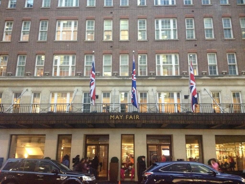 May Fair Hotel Review exterior