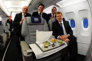 Niki business class seat