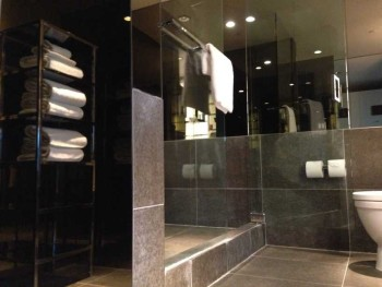 sls hotel at beverly hills los angeles review bathroom