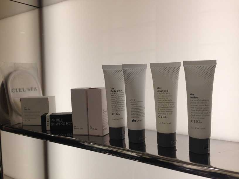 sls hotel at beverly hills los angeles review toiletries