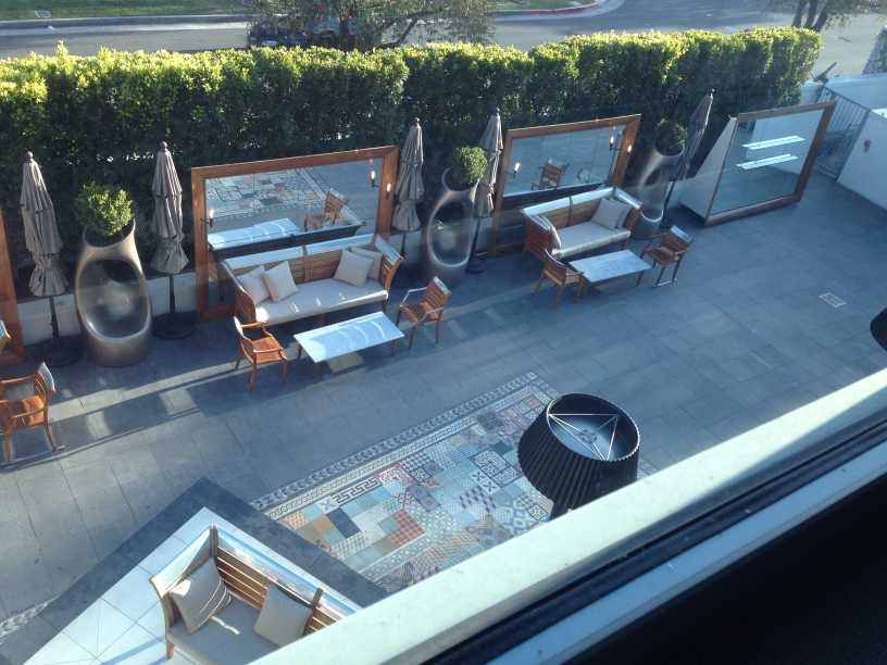 sls hotel at beverly hills los angeles review view