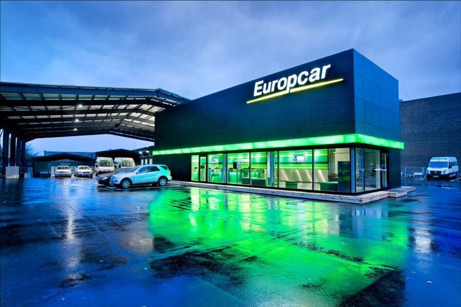 Rent A Car From Europcar For Just 1