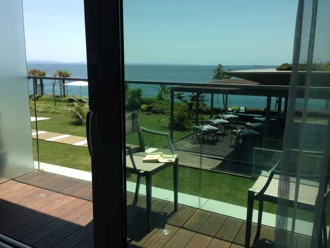 InterContinental Estoril review room balcony