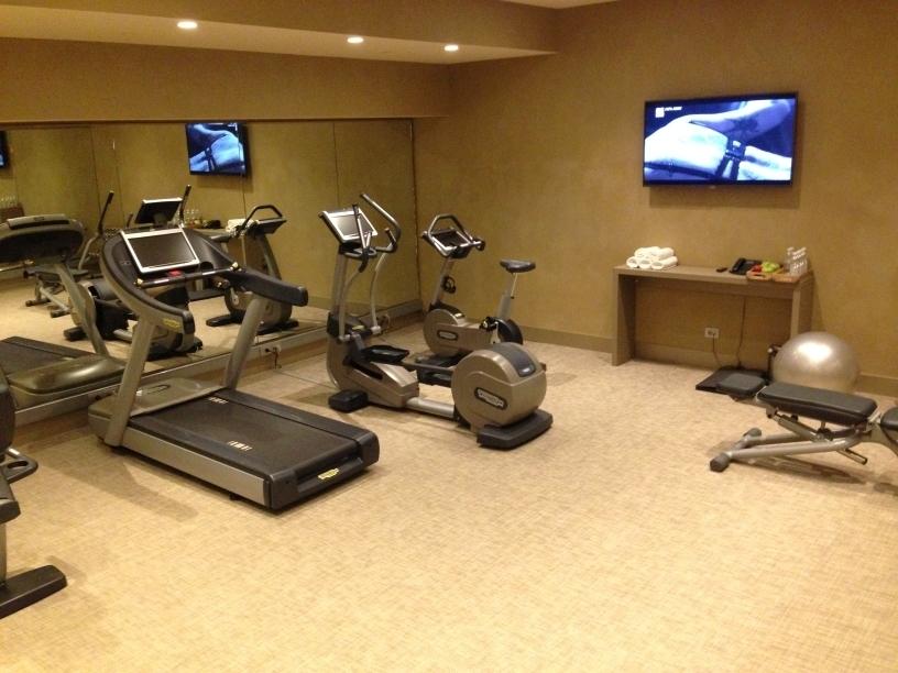 ME Milan gym